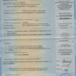 Давыдова Приложение к диплому